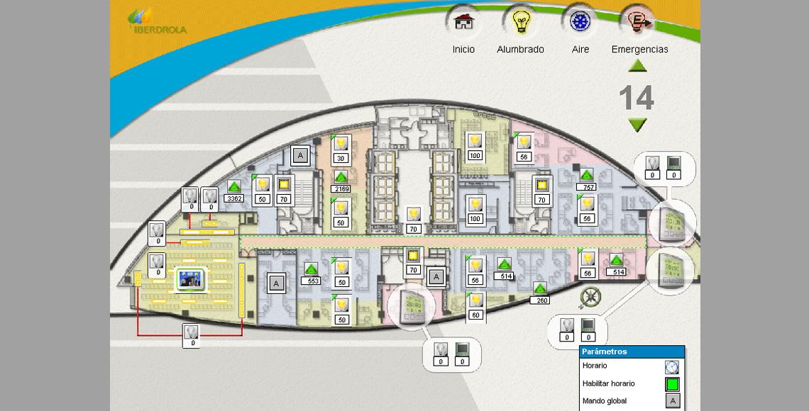 Edificio oficinas iberdrola arisnova ingenier a de sistemas - Oficinas de iberdrola en madrid ...