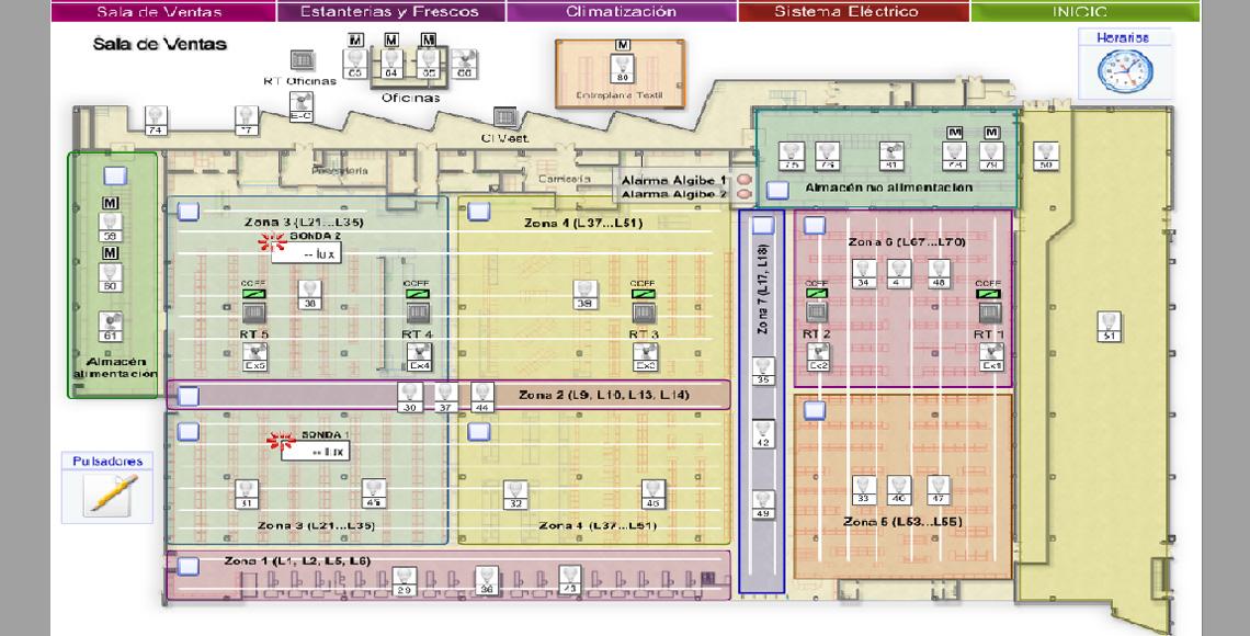 Centro comercial ondara eroski arisnova ingenier a for Iberdrola horario oficinas